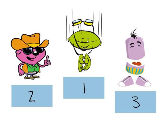 130 enfants votent pour leurs personnages préférés en juin 2011 : les premiers Speakies sont élus !