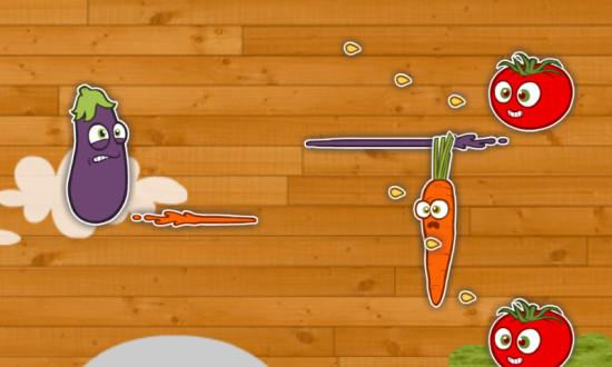 Image jeu Tir de légumes